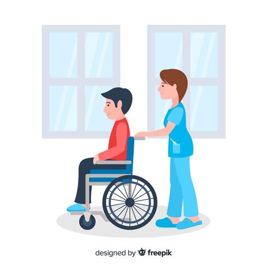 come ottenere una sedia a rotelle