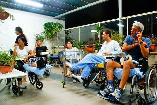 confronto disabili per carrozzina