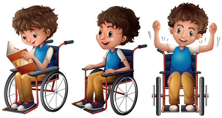 conoscenza sedia a rotelle