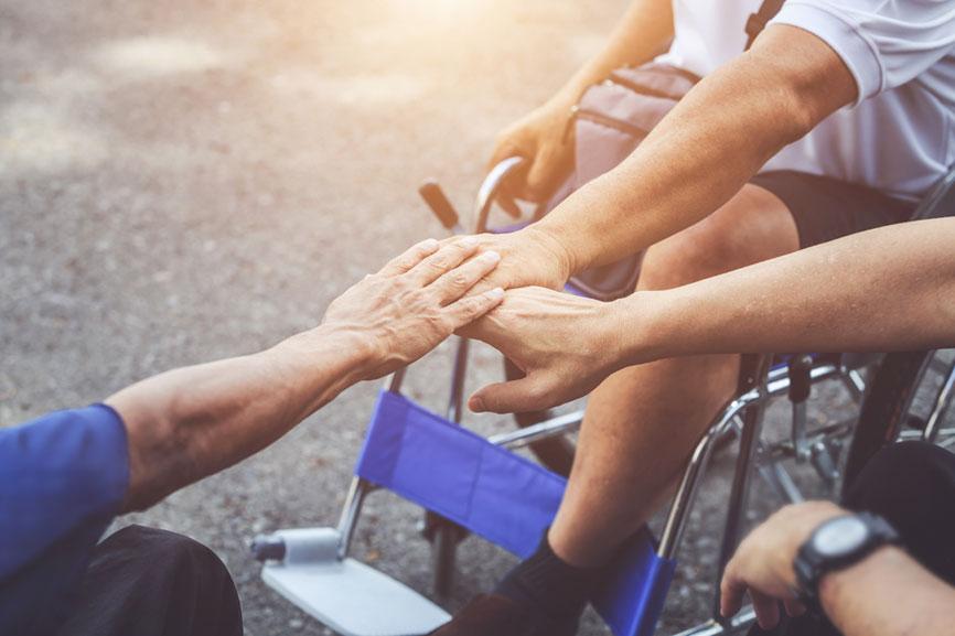 amicizia-disabili-ricovero-centro-di-riabilitazione